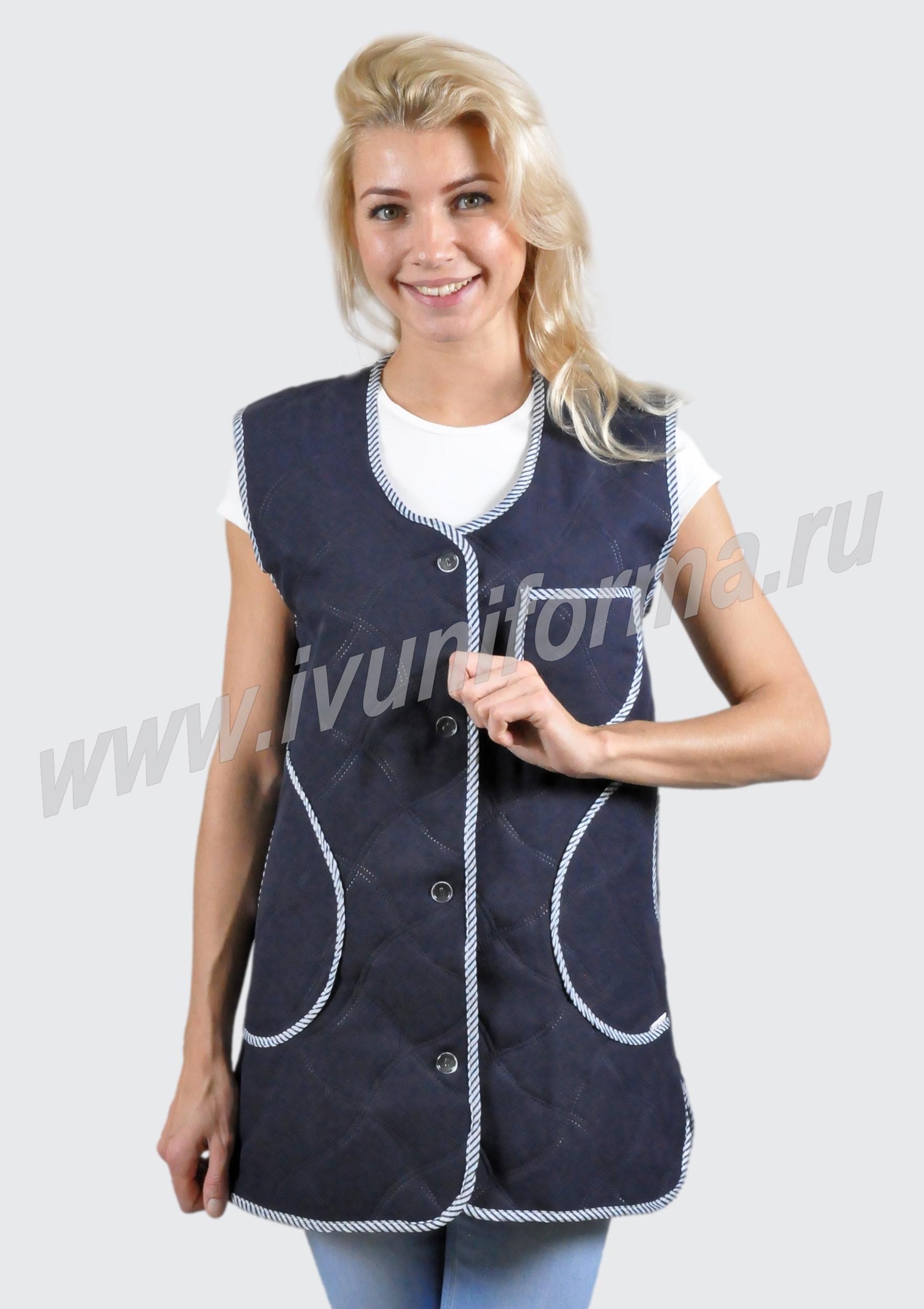 Мастер-класс: женский утепленный жилет Шкатулка 66